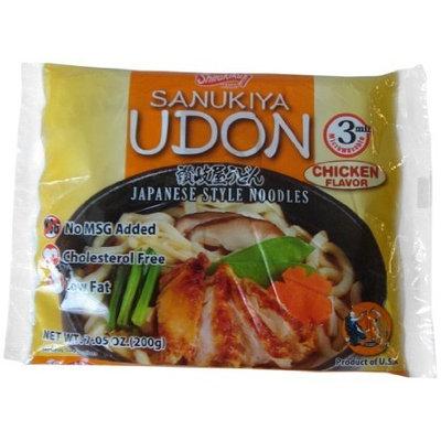 Shirakiku Sanukiya Udon Nama Chicken No MSG, 7.05-Ounce (Pack of 12)