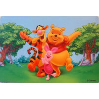 1 Winnie The Pooh Vinyl Placemat size (18inX12in)