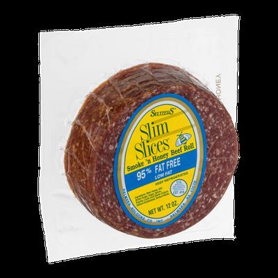 Seltzer's Slim Slices Smoke 'n Honey Beef Roll