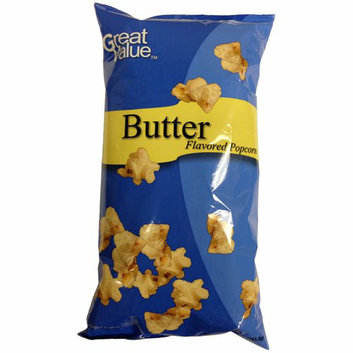 Great Value Buttered Flavored Popcorn