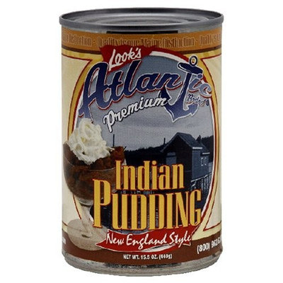 Atlantic Indian Pudding, 15.5-Ounce Tin (Pack of 12)