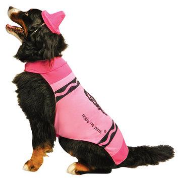 Rasta 4531-XL CRY Pink Dog Costume - X-Large