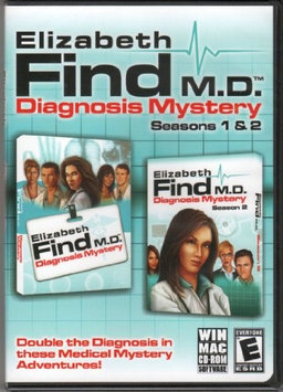 Gunnar Games Cosmi Elizabeth Find MD Season 1 And 2, For PC, Traditional Disc