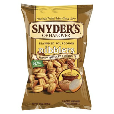 Snyder's Of Hanover Sourdough Nibblers Honey Mustard & Onion