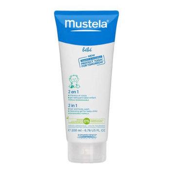 Mustela Bebe 2-in-1 Hair and Body Wash