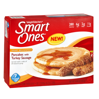 Weight Watchers Smart Ones Smart Beginnings Pancakes with Turkey Sausage