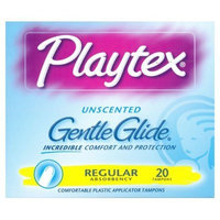 Playtex Femcare Gentle Glide Unscented Tampons - Regular 20 Count