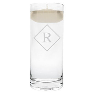 Cathy's Concepts Diamond Initial Floating Unity Candle R