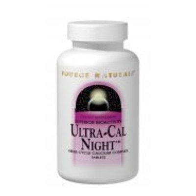 Source Naturals, Ultra-Cal Night Calcium Complex 300 mg 60 Tablets