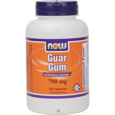 Now Foods Guar Gum 700mg, Capsules, 120-Count