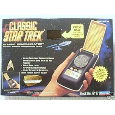 Special Kitty Star Trek Classic Communicator with Lights and Sounds