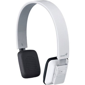 Genius USA Genius HS-920BT Bluetooth Headband Headset, White