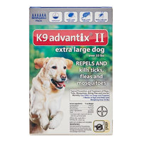 Advantix II 6-Month Dogs Over 55 Lbs (Blue)