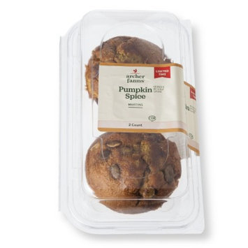 Archer Farms Pumpkin Muffins 2 ct