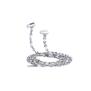 Fusion By Dazzle DZ10001 Jewel Earphone Lotus Silver