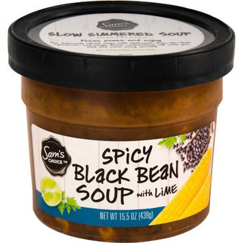 Sam's Choice Spicy Black Bean Soup with Lime, 15.5 oz