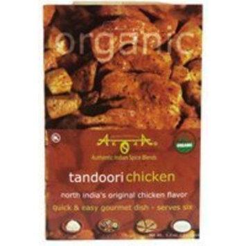 Arora Organic Tandoori Chicken Spice Blend 0.90 Ounces (Case of 12)