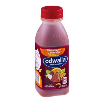 Odwalla Fruit Smoothie Strawberry C Monster