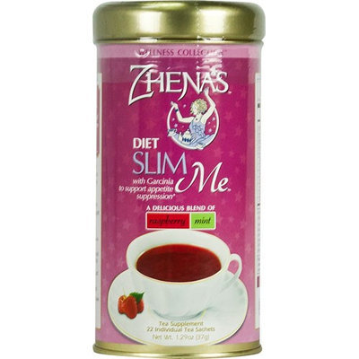 Zhenas Gypsy Tea Slim Me Raspberry Mint - Case of 6 - 22 Bags