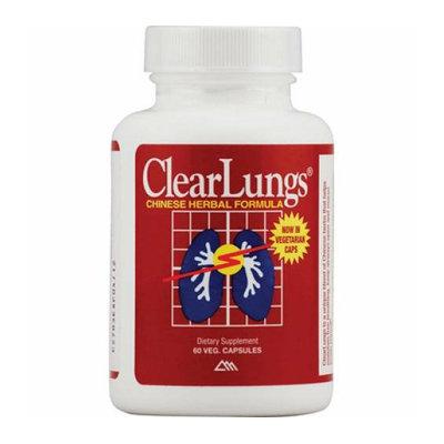 RidgeCrest Herbals ClearLungs 60 Vegetarian Capsules