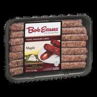 Bob Evans Pork Sausage Links Maple - 14 CT