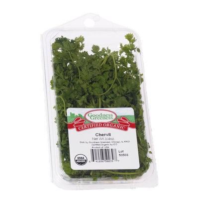 Goodness Greeness Chervil Herbs - Organic