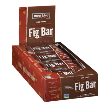 Nature's Bakery Fig Bar Whole Wheat Raspberry - 12 CT