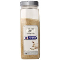 McCormick Roasted Garlic, 19-Ounce Plastic Bottle