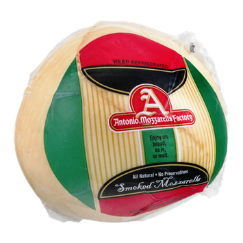 Antonio Mozzarella Factory Smoked Mozzarella