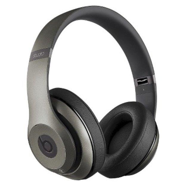 BEATS by Dr. Dre Beats by Dre Studio Around-the-Ear Wireless Headphones - Titanium