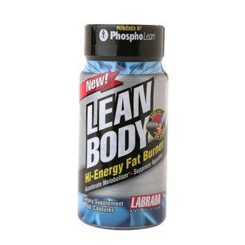 Labrada Nutrition Lean Body hi-Energy Fat Burner