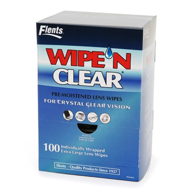 Flents Wipe 'N Clear Pre-moistened Lens Wipes