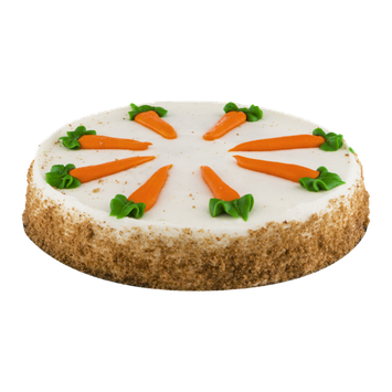 La Bree's Bakery Cake Carrot with Cream Cheese Icing Single Layer 8 Inch