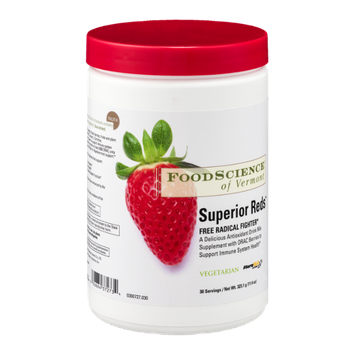 Food Science of Vermont Superior Reds Free Radical Fighter Drink Mix