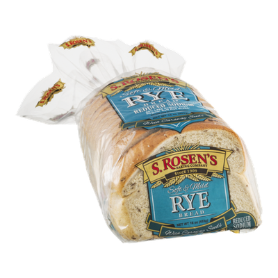 S. Rosen's Rye Bread with Caraway Seeds Reduced Sodium