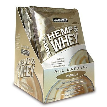 100% Hemp & Whey Isolate Biochem Box of 10 Packet