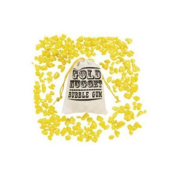 Oriental Trading Company Gold Nugget Bubble Gum - Candy and Food