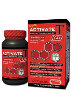 Fusion Diet Systems - Activate T Red Advanced Testosterone Ignitor - 120 Capsules