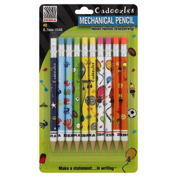 Zebra Pen Corporation ZEB51211 Cadoozles Pencils 10Pk