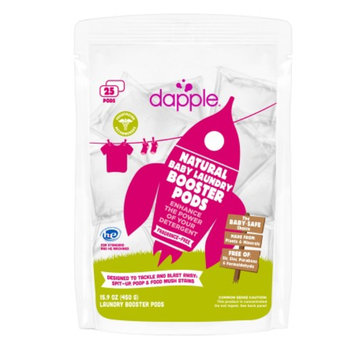 dapple Baby Laundry Booster Pods, Fragrance Free, 25 ea