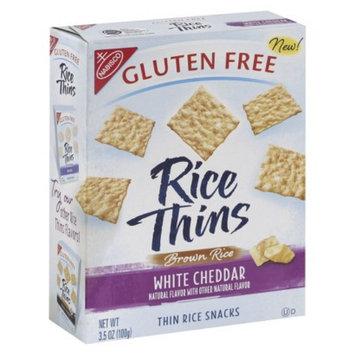 NABISCO Gluten Free Rice Thin-White Cheddar 3.5-oz.