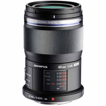 Olympus M.Zuiko 60mm f/2.8 MSC ED Macro Micro ED Digital Lens (Black)