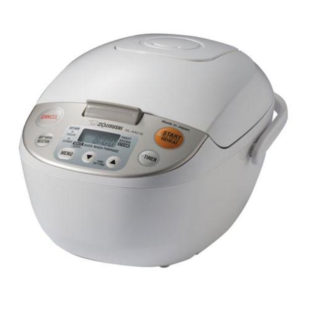 Zojirushi NL-AAC10 Micom Rice Cooker & Warmer, 5.5 Cups/1.0-Liter + Spatula Spic