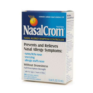 NasalCrom Nasal Allergy Symptom Controller Spray Without Drowsiness