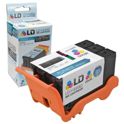 LD Compatible Y499D / 330-5274 (Series 21) Color Ink Cartridge for Dell V313 and V313w