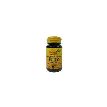 Natural Wealth Nature Wealth Sublingual Vitamin B-12 2500mcg, 50 Tablets