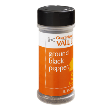 Guaranteed Value Ground Black Pepper