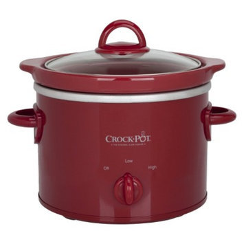 Crock Pot Crock-Pot 2 Qt Slow Cooker - Red