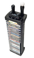 LevelUp PlayStation Edge Controller and Game Storage Tower - Black