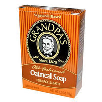 Grandpa's Old Fashioned Oatmeal Soap for Face & Bath